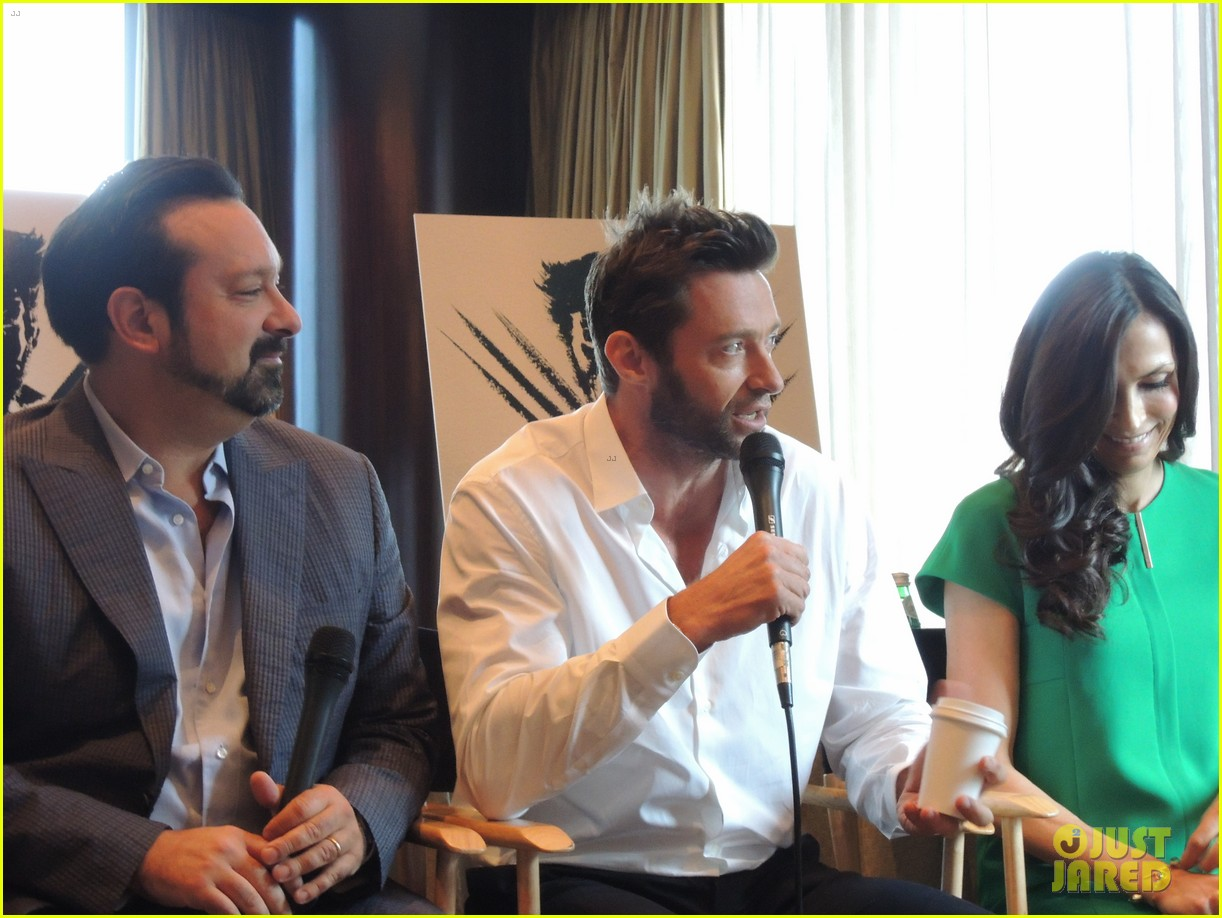 hugh jackman the wolverine press conference in nyc 132908824