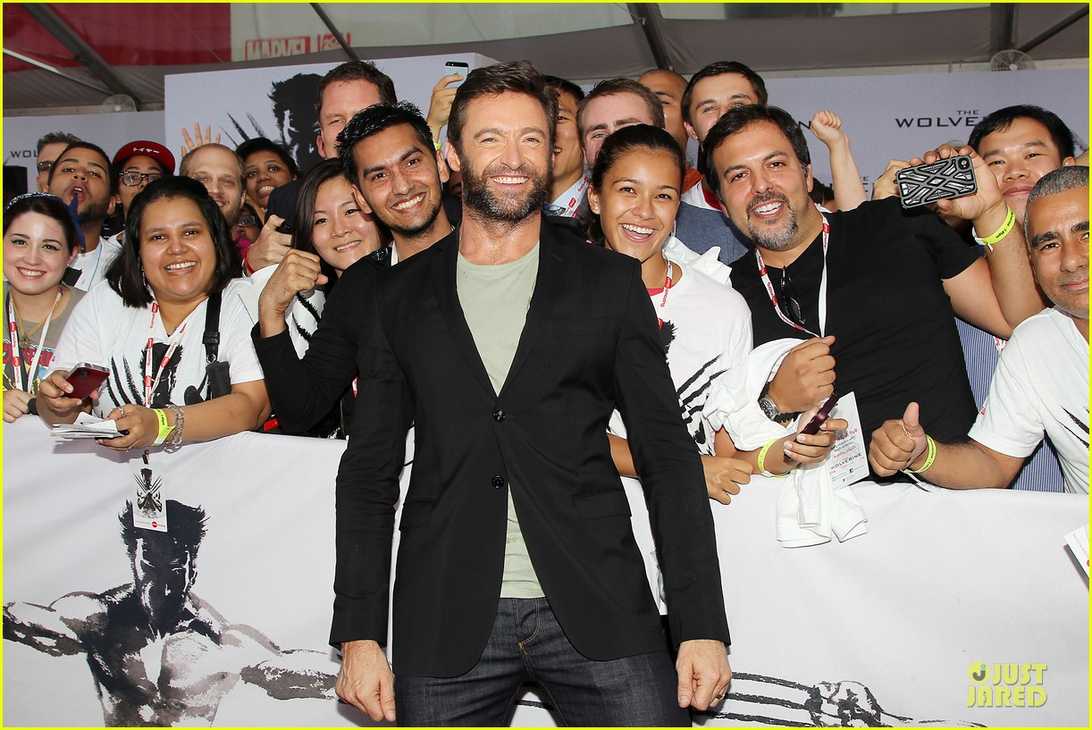 hugh jackman wolverine fan screening 022915422