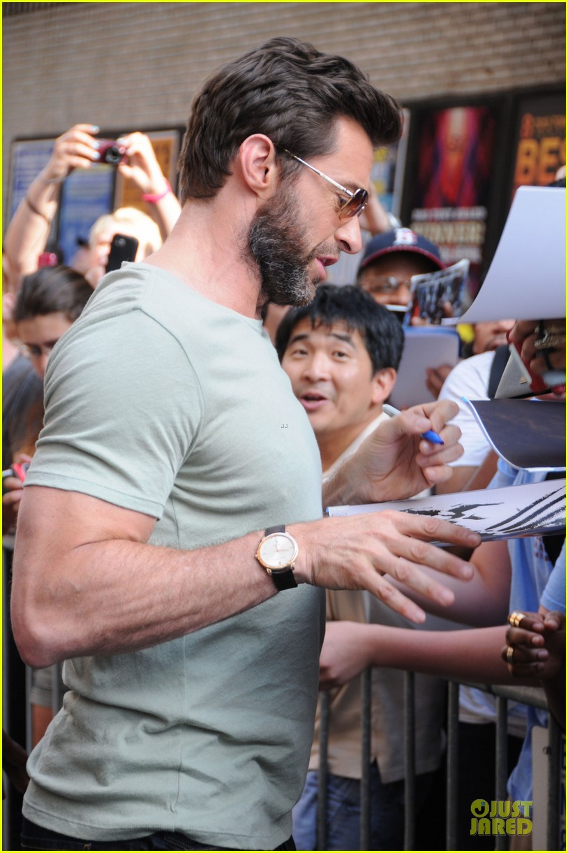 hugh jackman wolverine fan screening 062915426