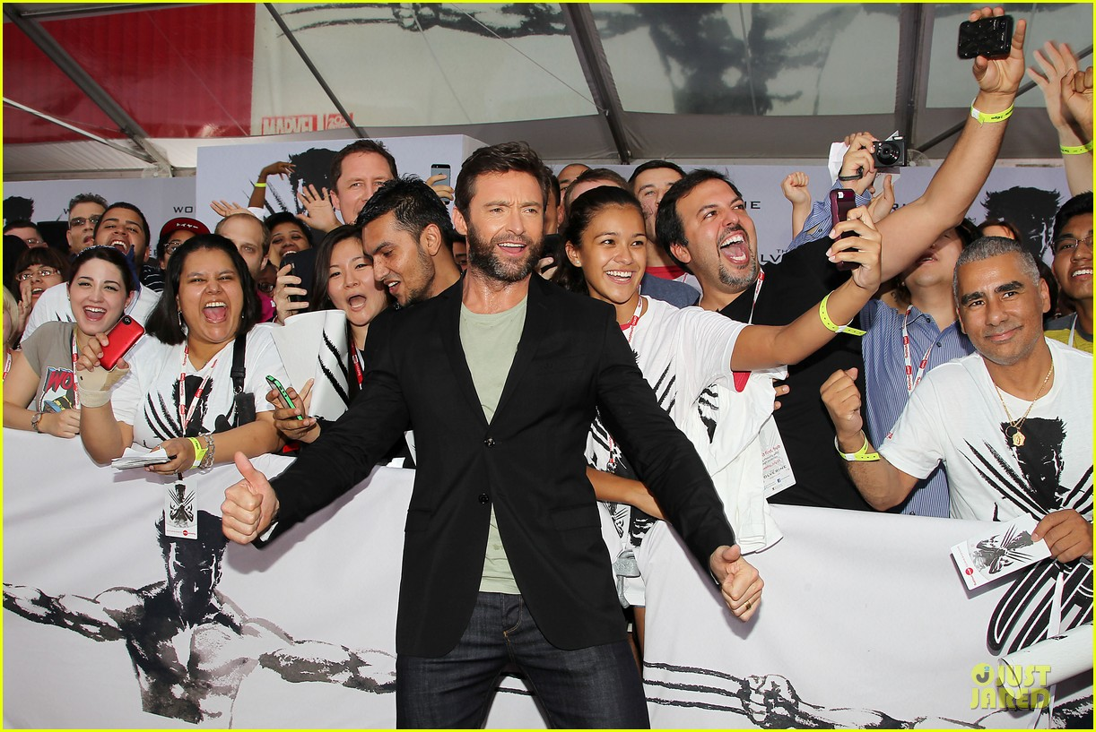 hugh jackman wolverine fan screening 122915432
