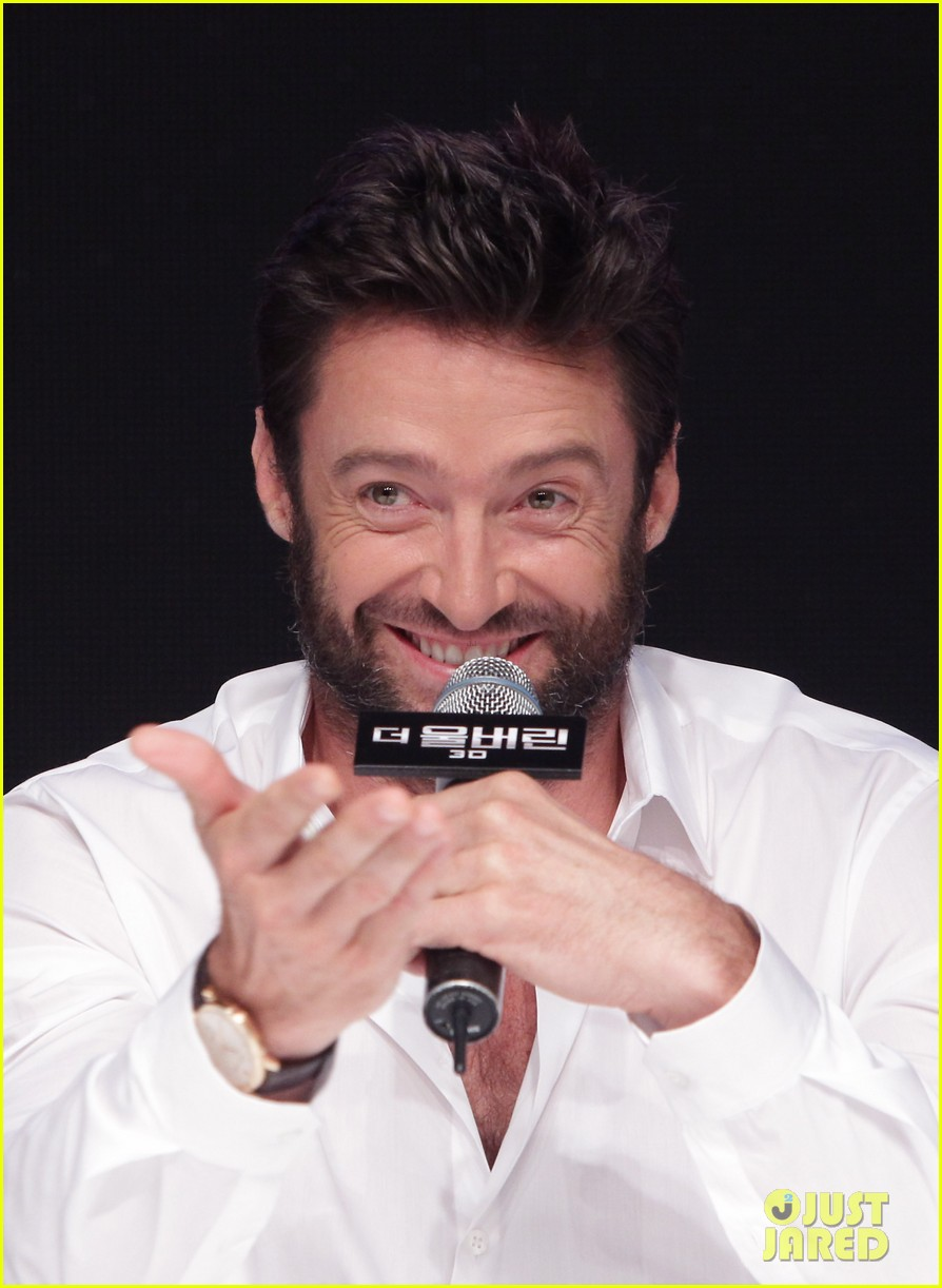 hugh jackman wolverine press conference in seoul 042909662