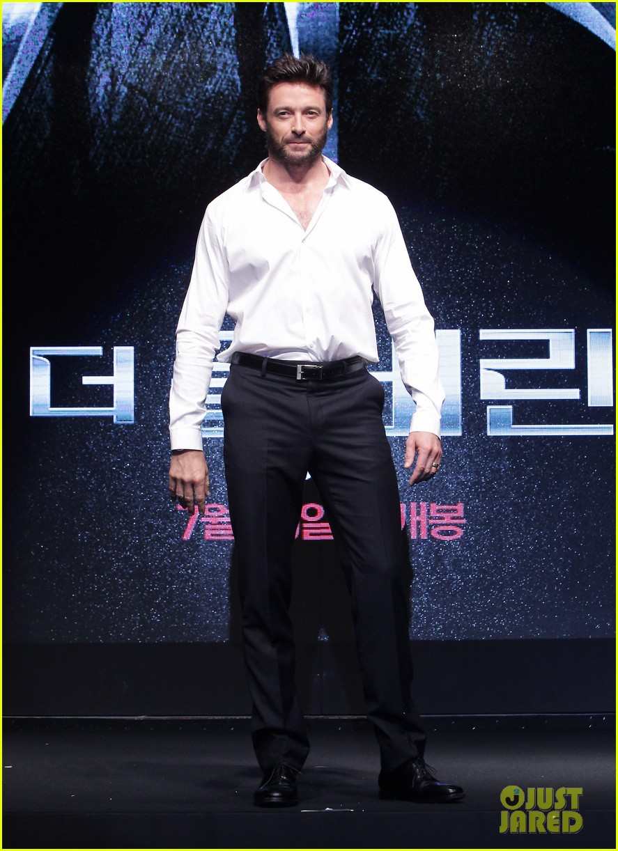 hugh jackman wolverine press conference in seoul 052909663