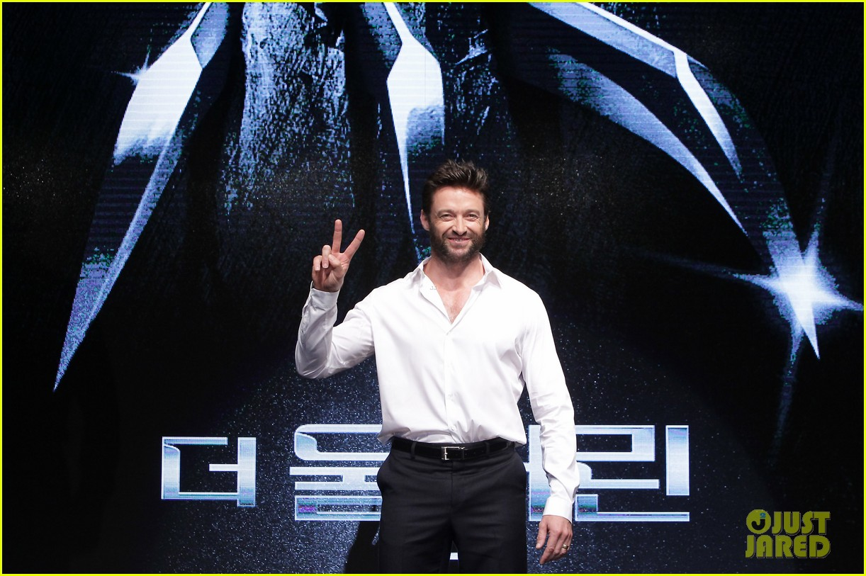 hugh jackman wolverine press conference in seoul 062909664