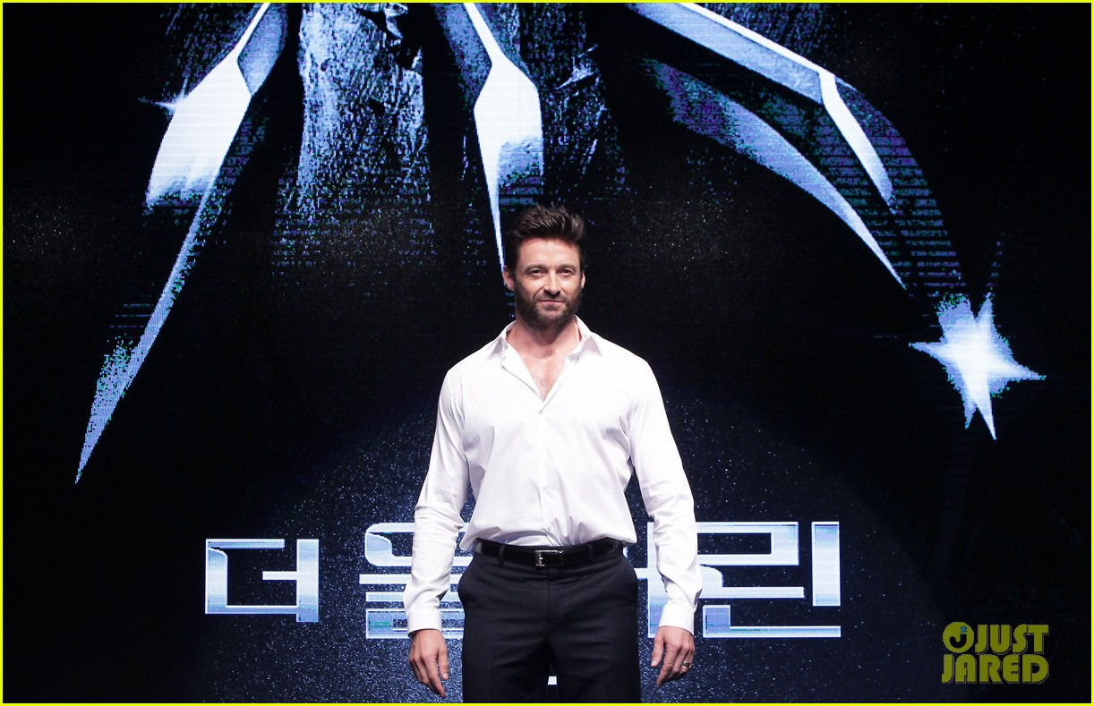 hugh jackman wolverine press conference in seoul 082909666
