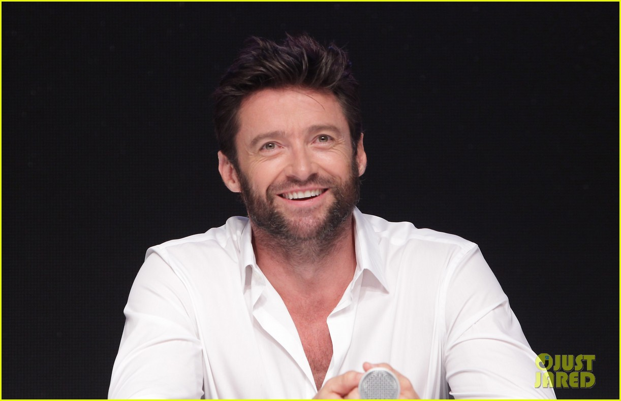 hugh jackman wolverine press conference in seoul 142909672