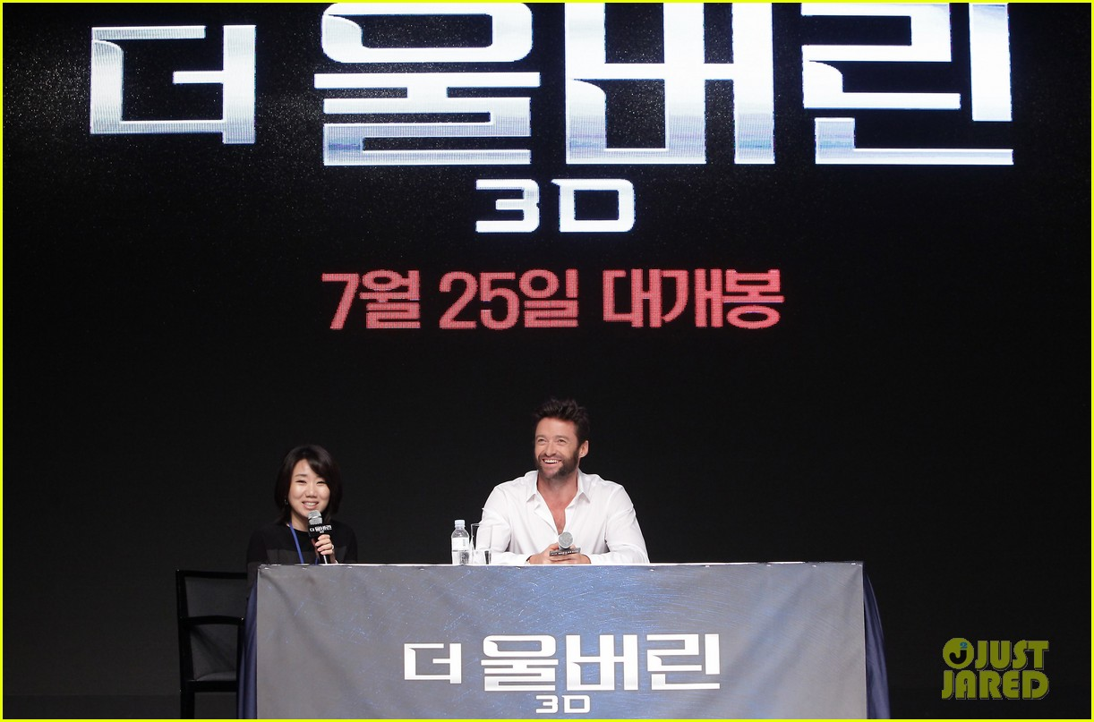 hugh jackman wolverine press conference in seoul 162909674