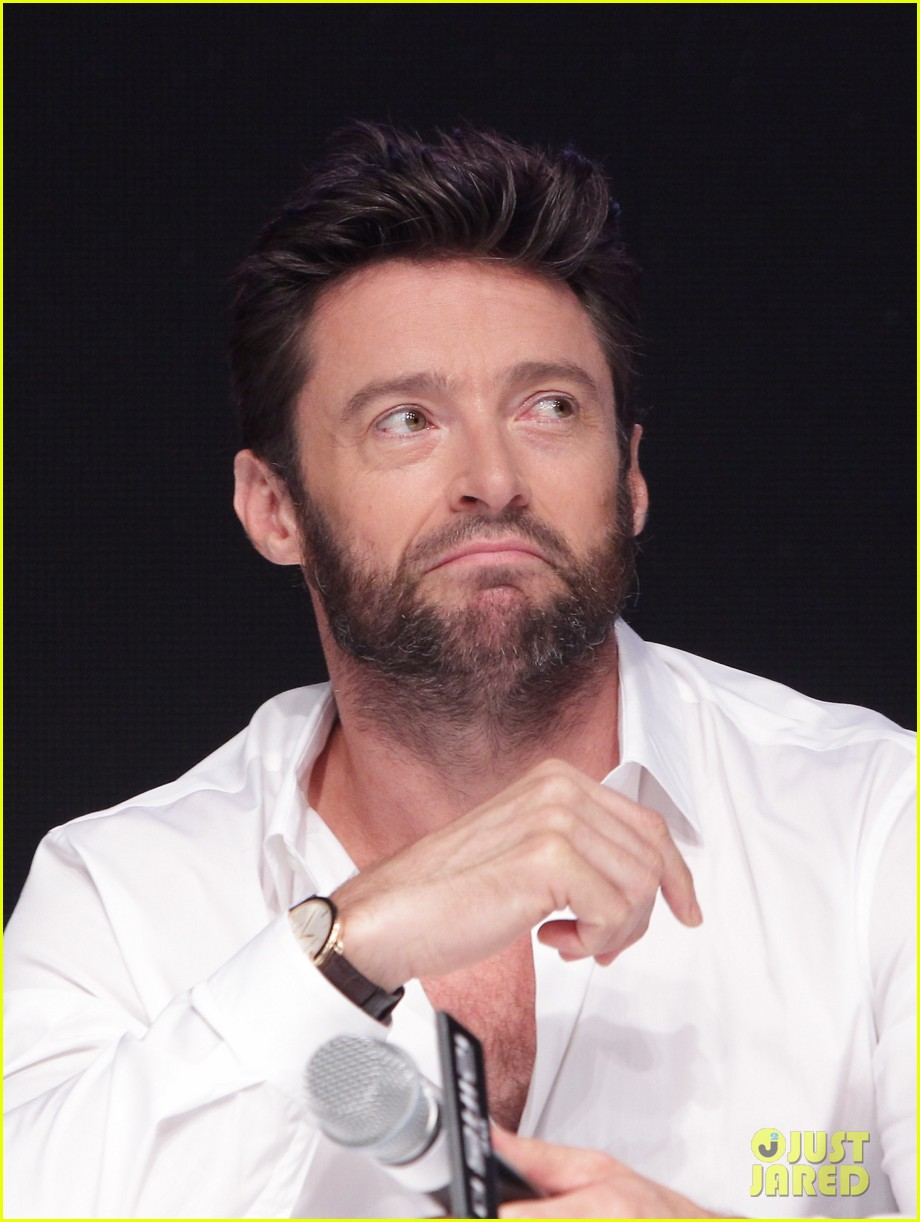 hugh jackman wolverine press conference in seoul 182909676