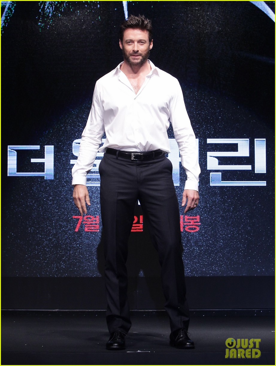 hugh jackman wolverine press conference in seoul 192909677