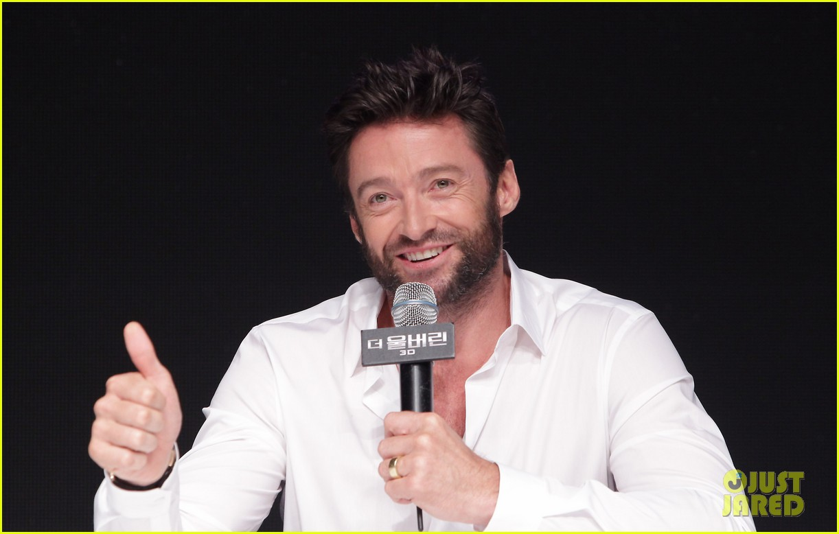 hugh jackman wolverine press conference in seoul 202909678
