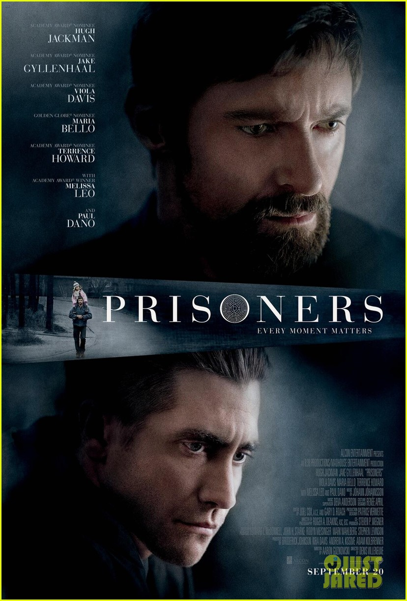 hugh jackman jake gyllenhaal prisoners poster first look 032916102