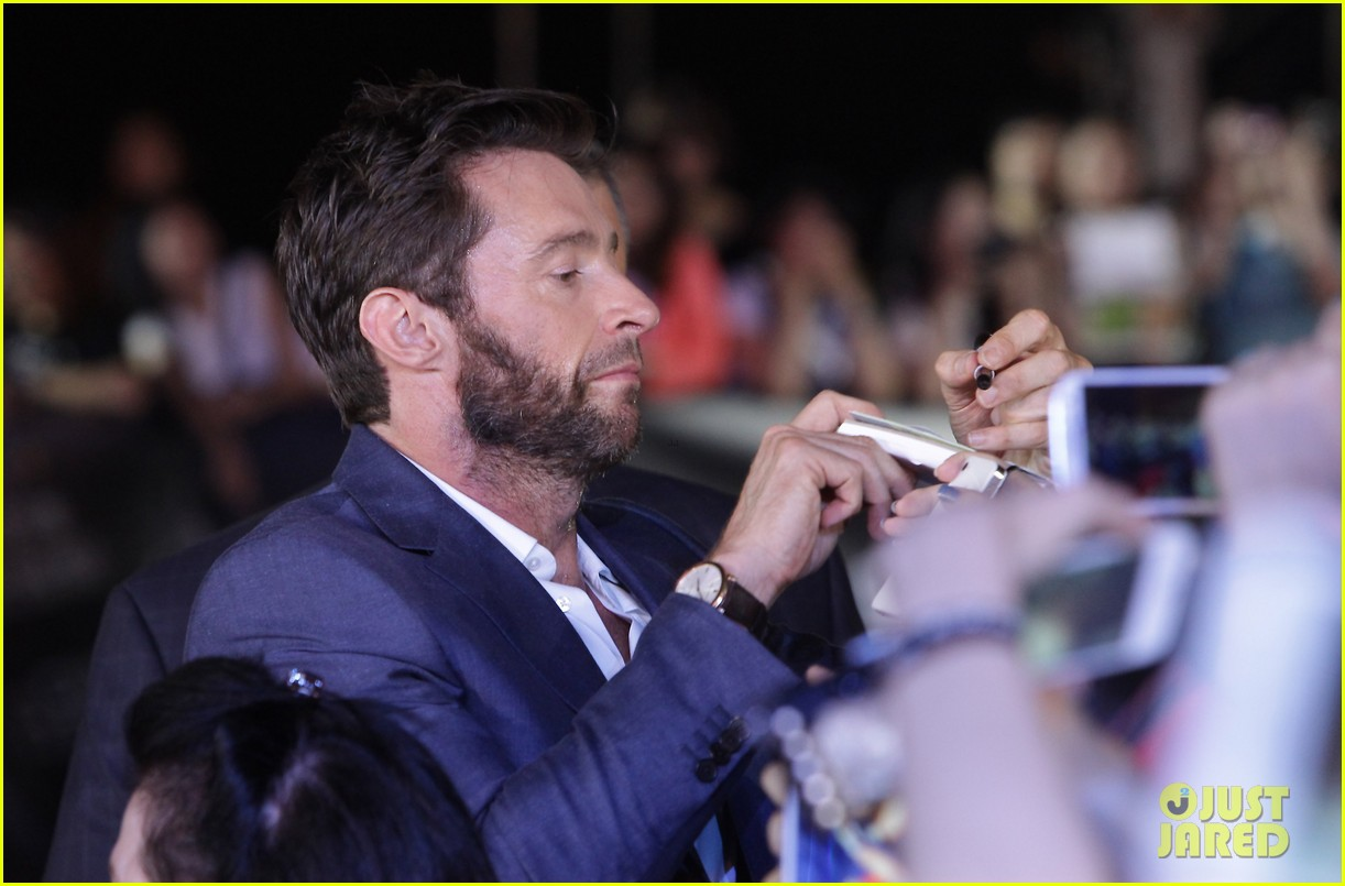 hugh jackman the wolverine south korea premiere 062909799