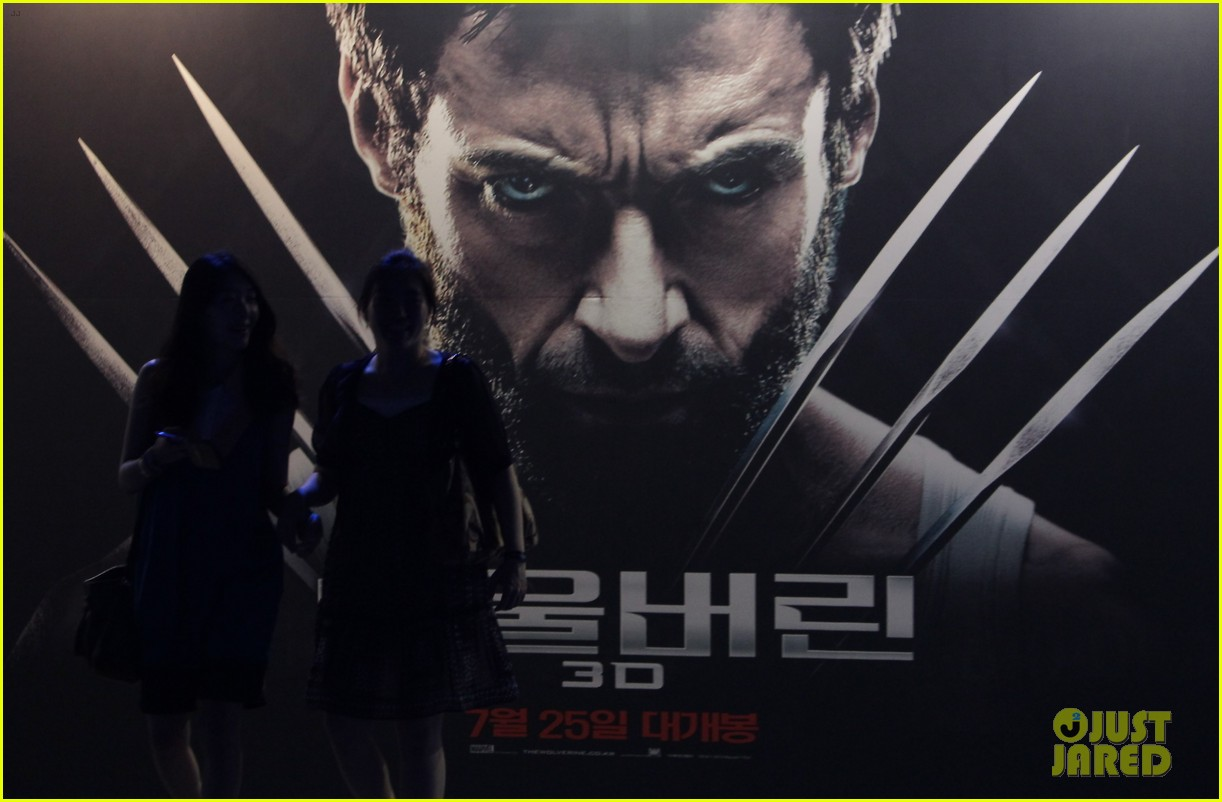 hugh jackman the wolverine south korea premiere 072909800