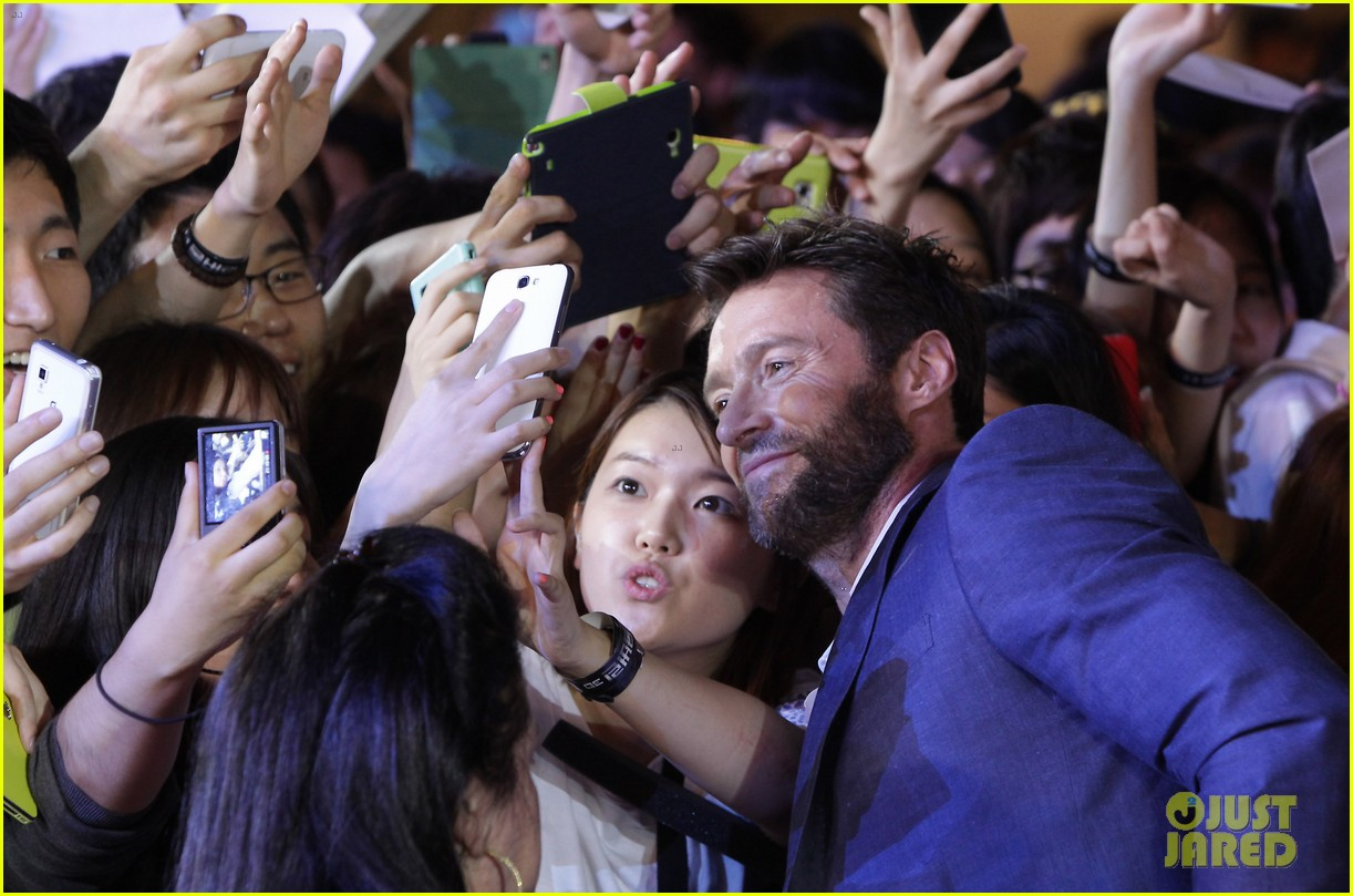 hugh jackman the wolverine south korea premiere 132909806