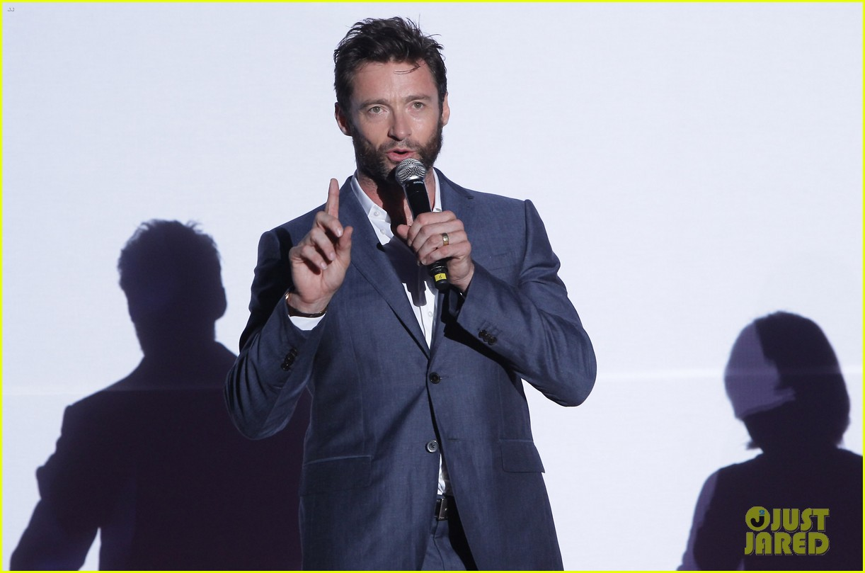 hugh jackman the wolverine south korea premiere 152909808