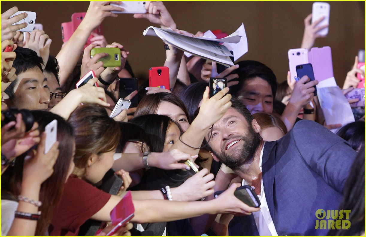 hugh jackman the wolverine south korea premiere 172909810