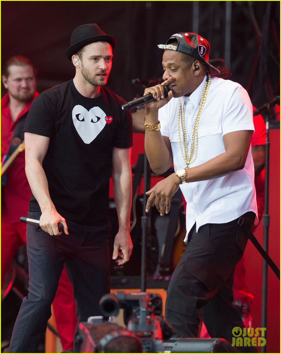 justin timberlake jay z perform at wireless festival 04