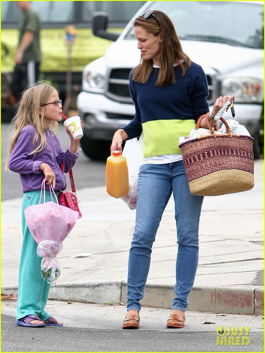 jennifer garner mother daughter morning with violet 092918751