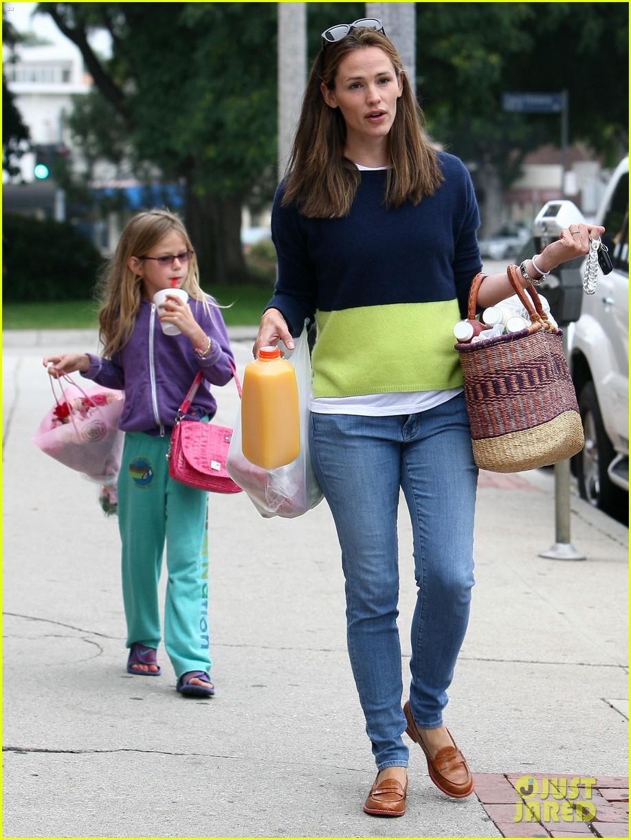 jennifer garner mother daughter morning with violet 132918755