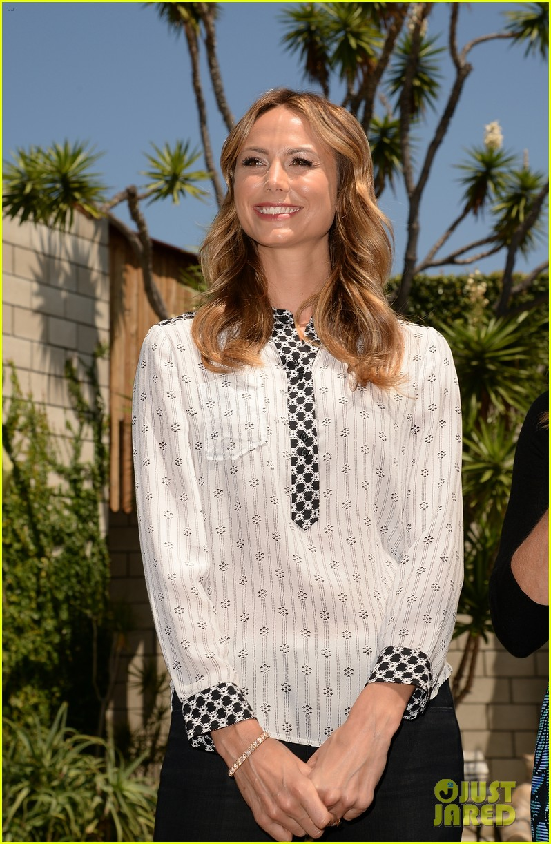 stacy keibler promote new show after george clooney split 222909878