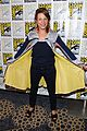 minka kelly michael ealy almost human at comic con 09