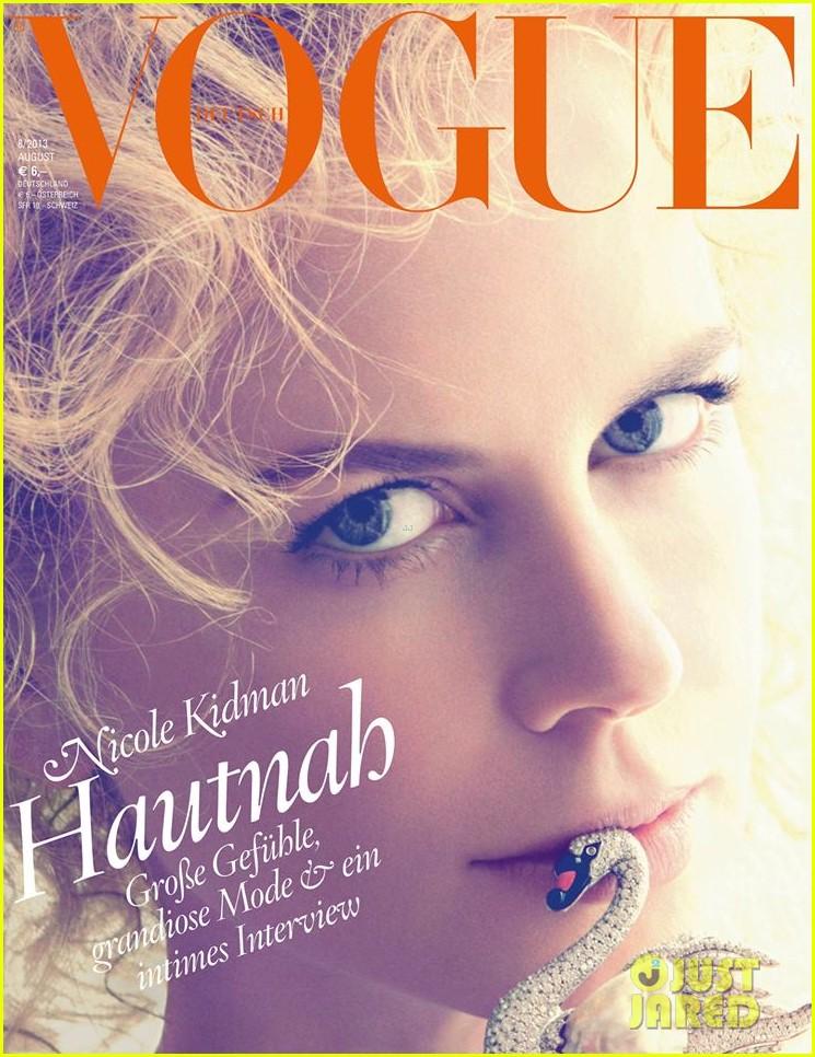 nicole kidman covers vogue germany 012910904