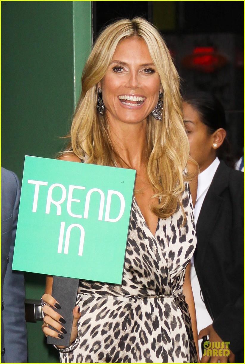 heidi klum trend in for project runway 022915683