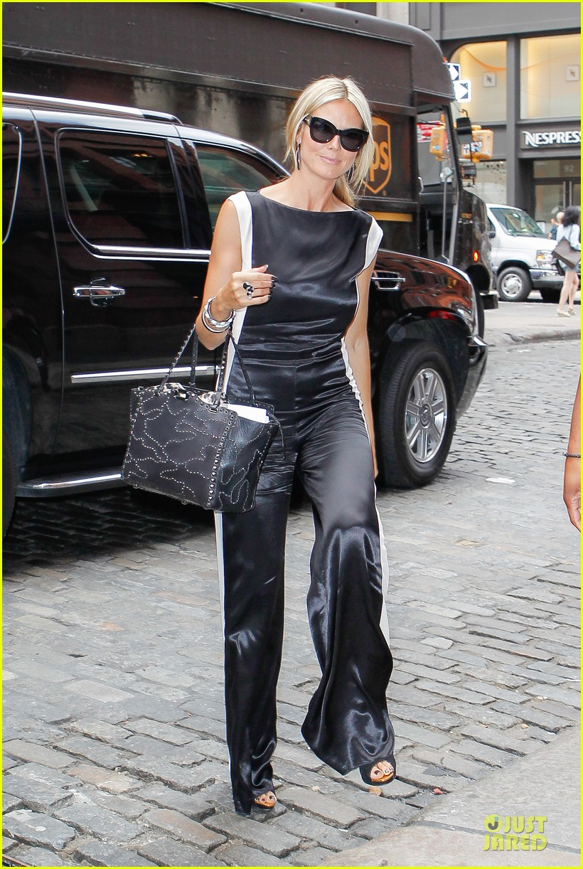 heidi klum trend in for project runway 23