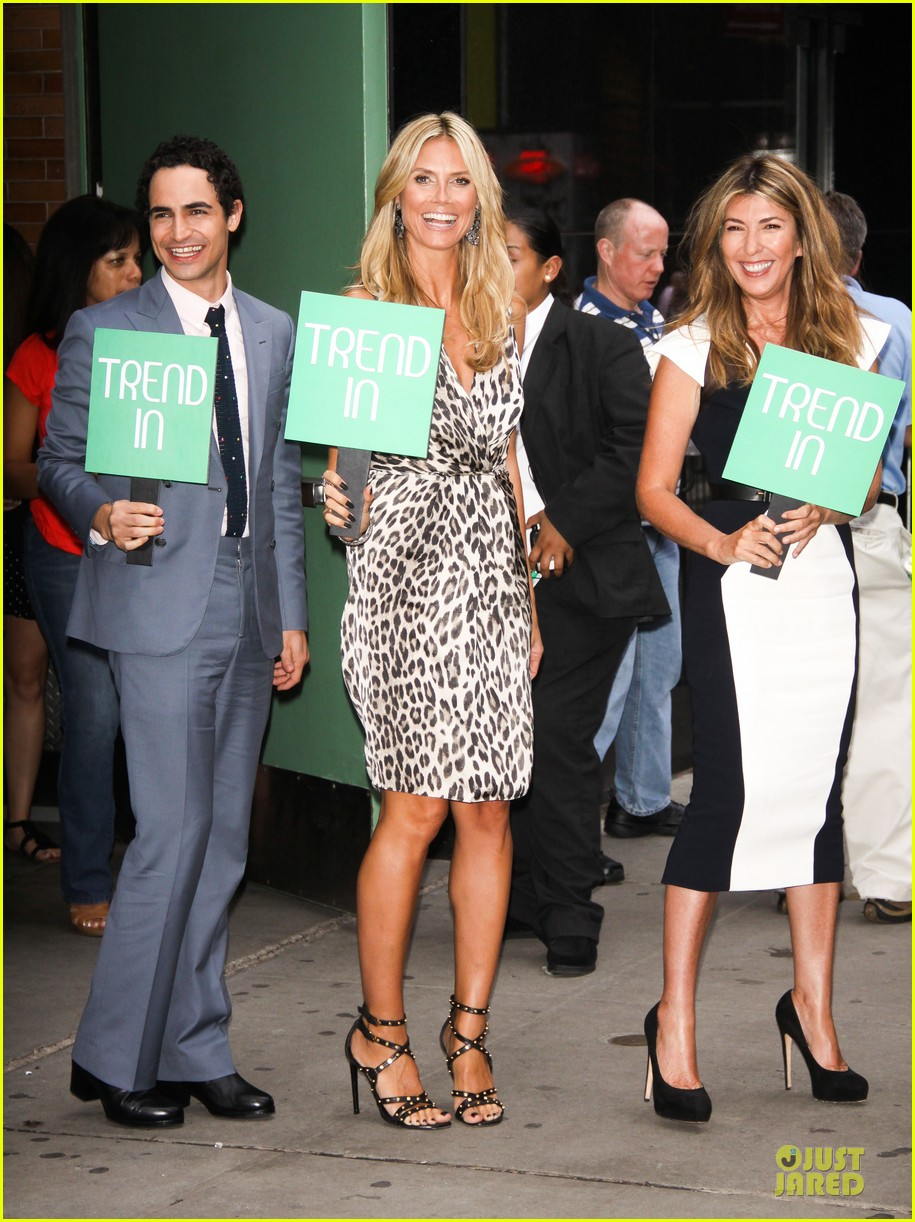heidi klum trend in for project runway 312915712