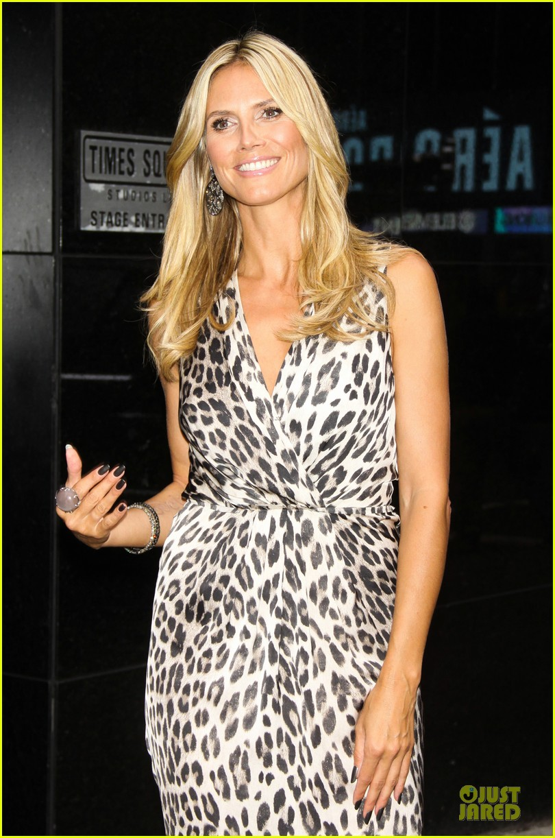 heidi klum trend in for project runway 322915713