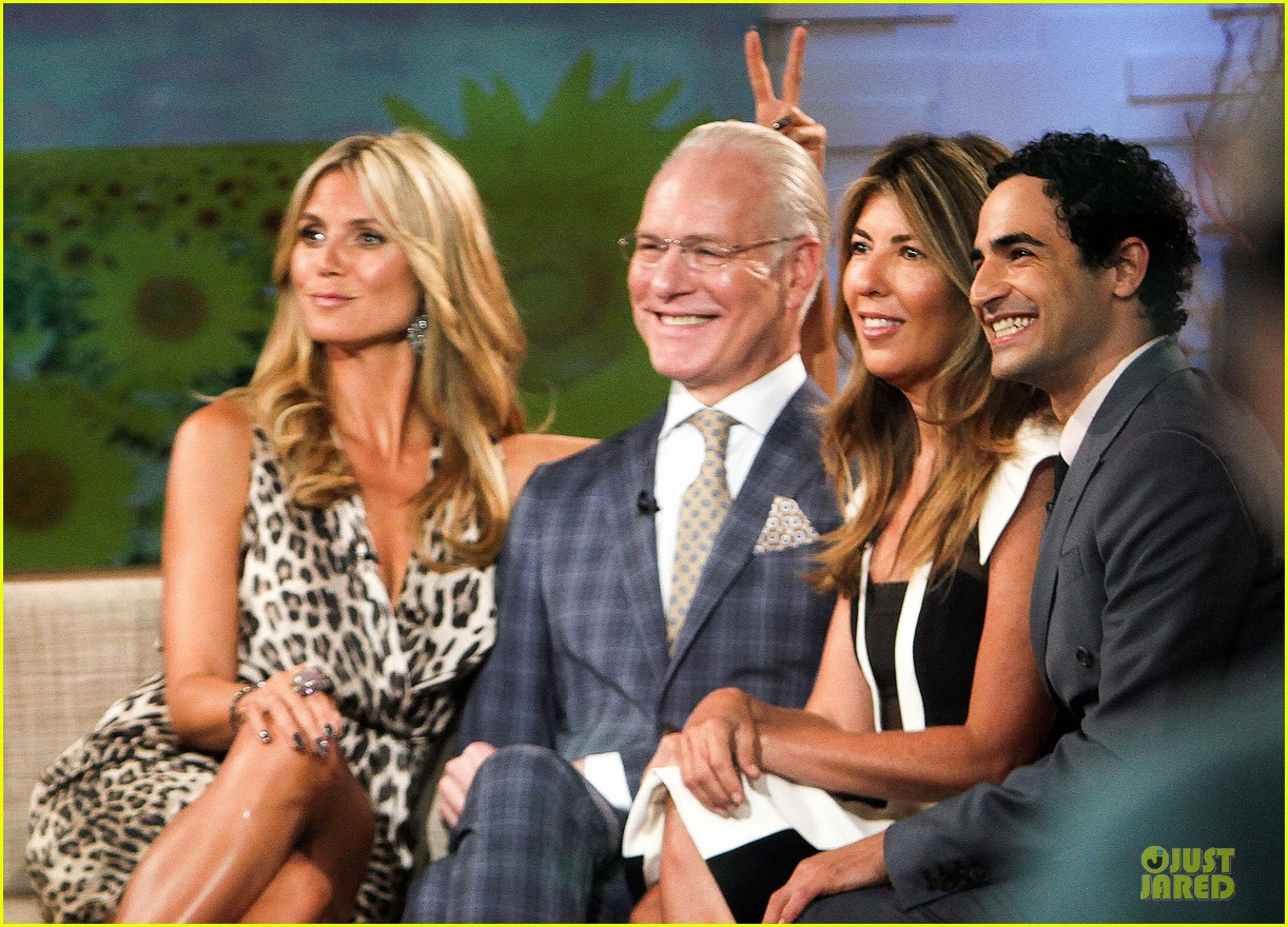 heidi klum trend in for project runway 342915715