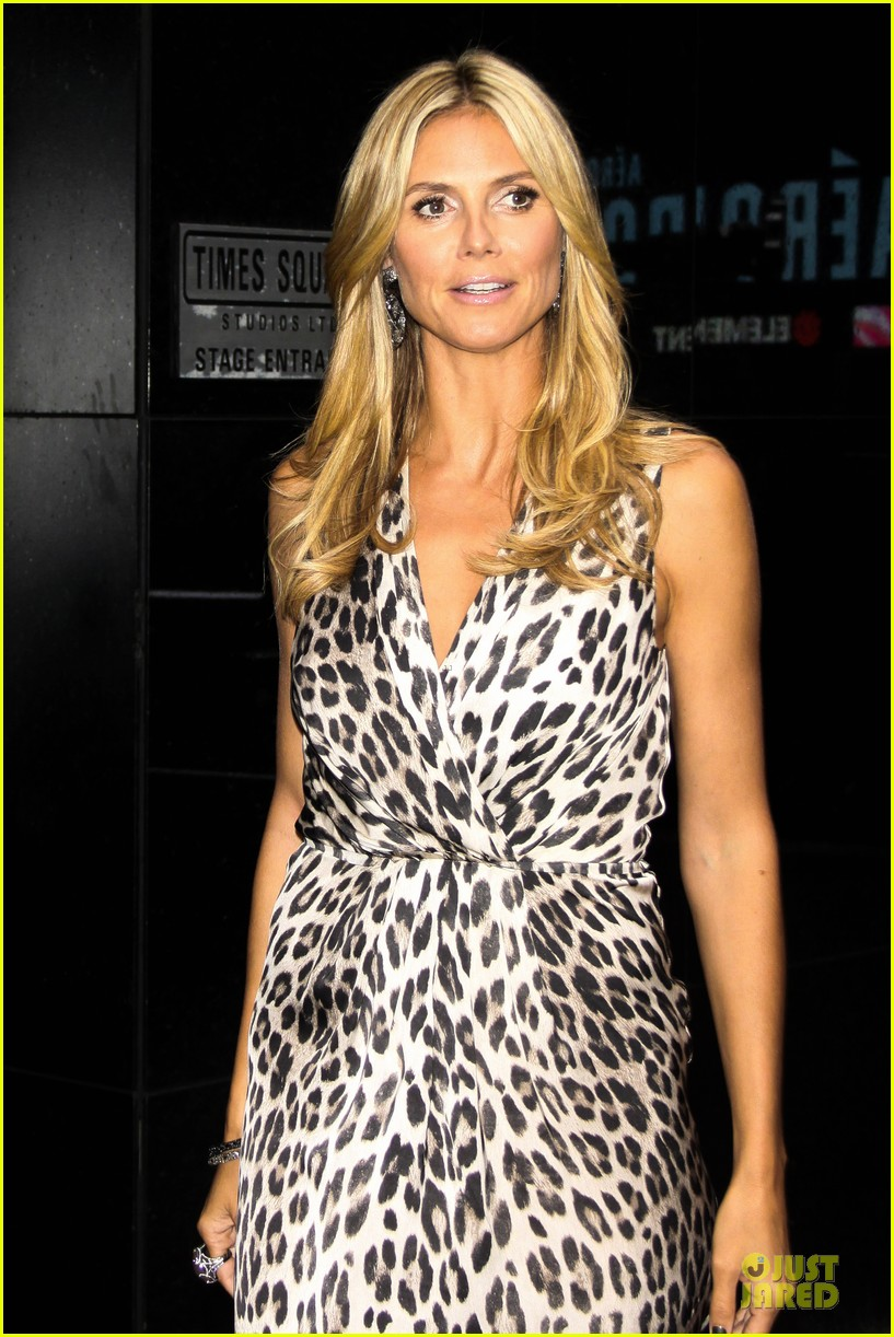 heidi klum trend in for project runway 372915718