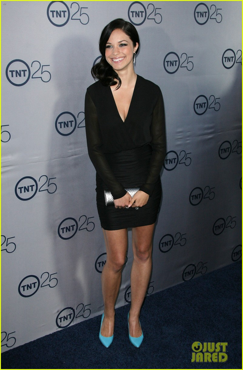 alexis knapp sasha alexander tnt's 25th anniversary party 02