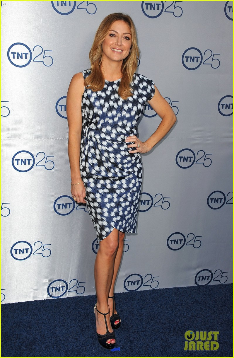 alexis knapp sasha alexander tnt's 25th anniversary party 152916543