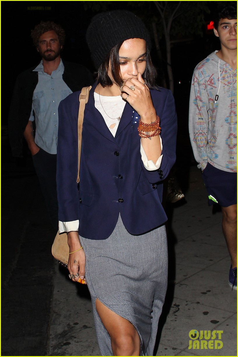 zoe kravtiz chateau marmont night out 01