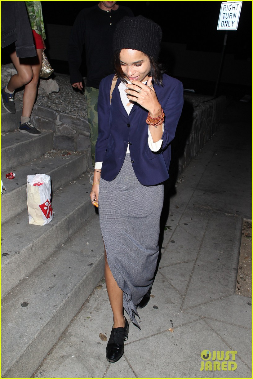 zoe kravtiz chateau marmont night out 022903122