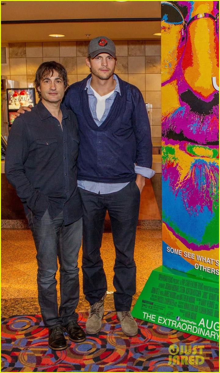 ashton kutcher jobs qa with director joshua michael stern 052917279