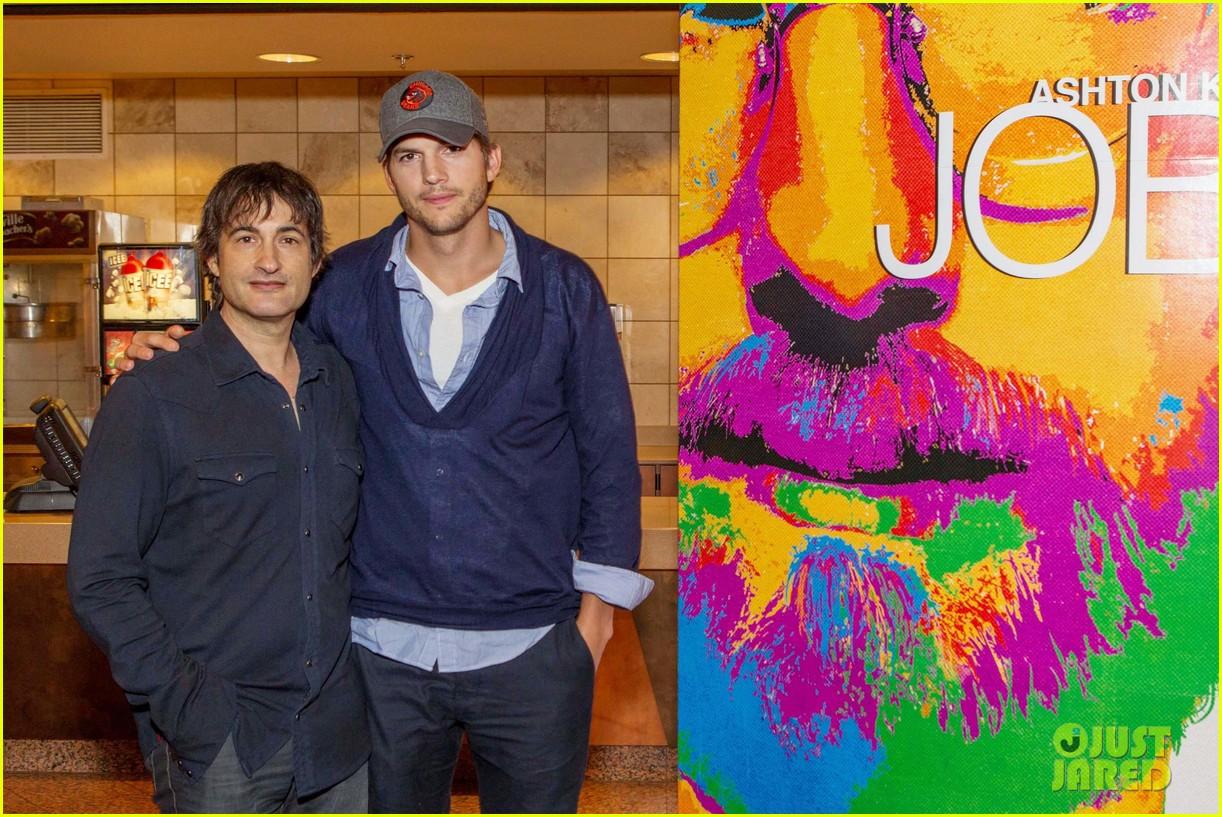 ashton kutcher jobs qa with director joshua michael stern 062917280