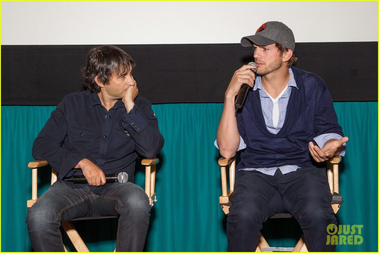 ashton kutcher jobs qa with director joshua michael stern 082917282