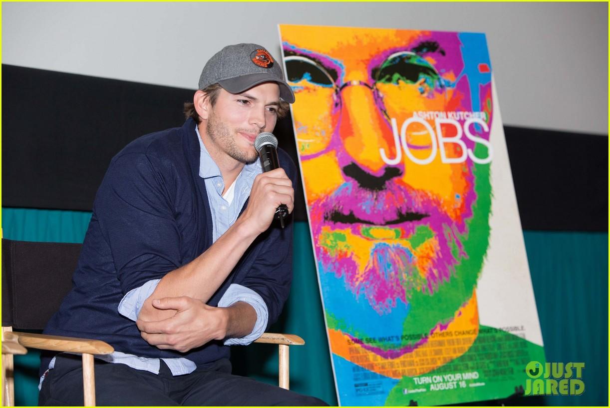 ashton kutcher jobs qa with director joshua michael stern 102917284