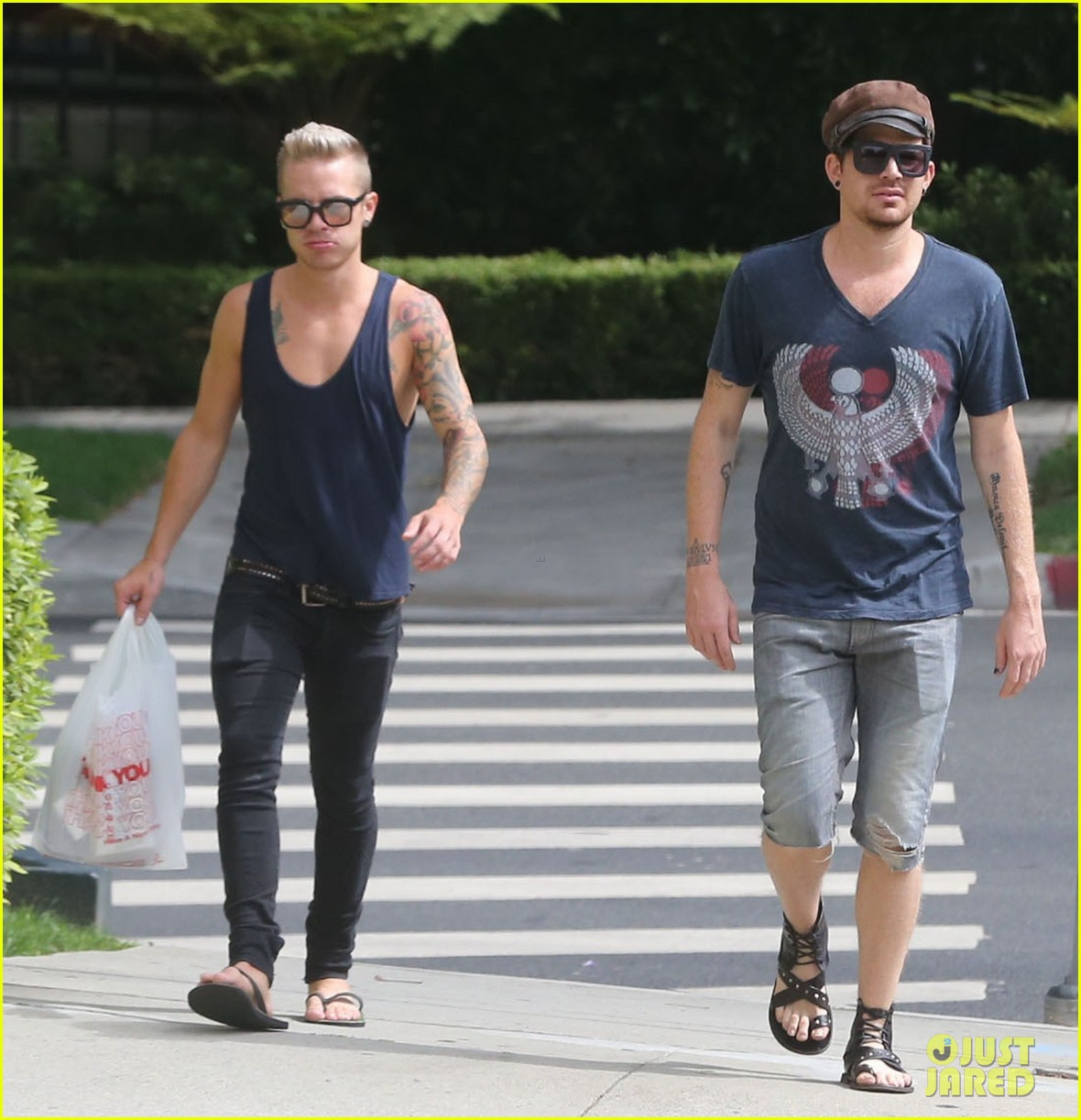 adam lambert steps out with ex sauli koskinen after cory monteith condolence 072909502