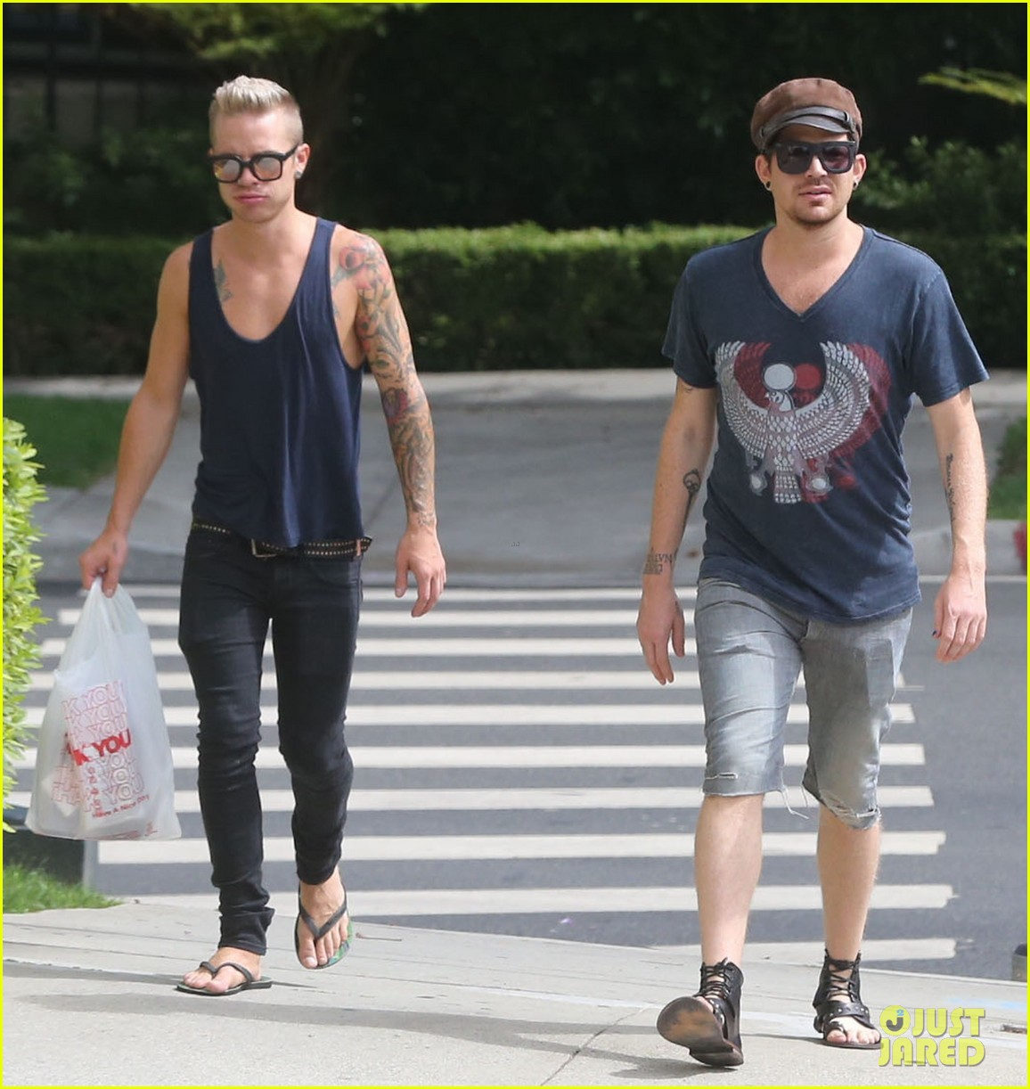 adam lambert steps out with ex sauli koskinen after cory monteith condolence 082909503
