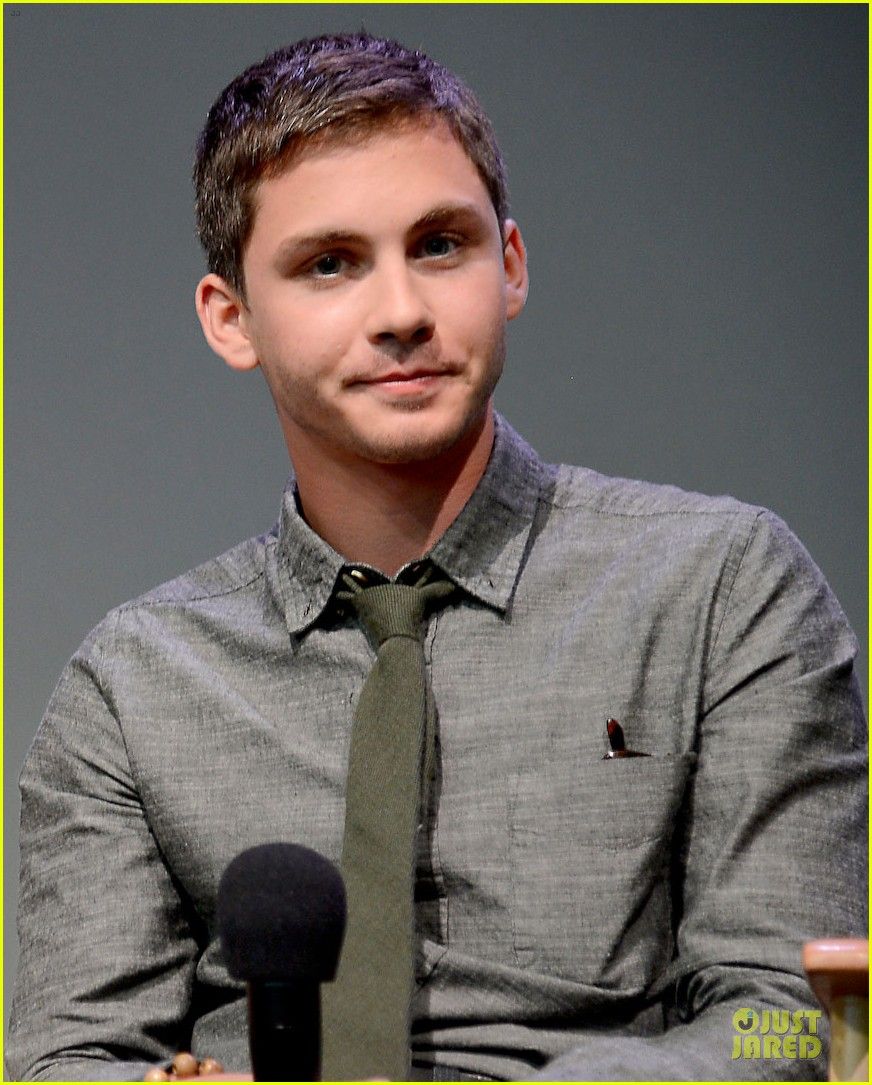 logan lerman alexandra daddario percy jackson promo at apple 032919887