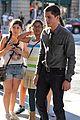 logan lerman alexandra daddario percy jackson promo at apple 01