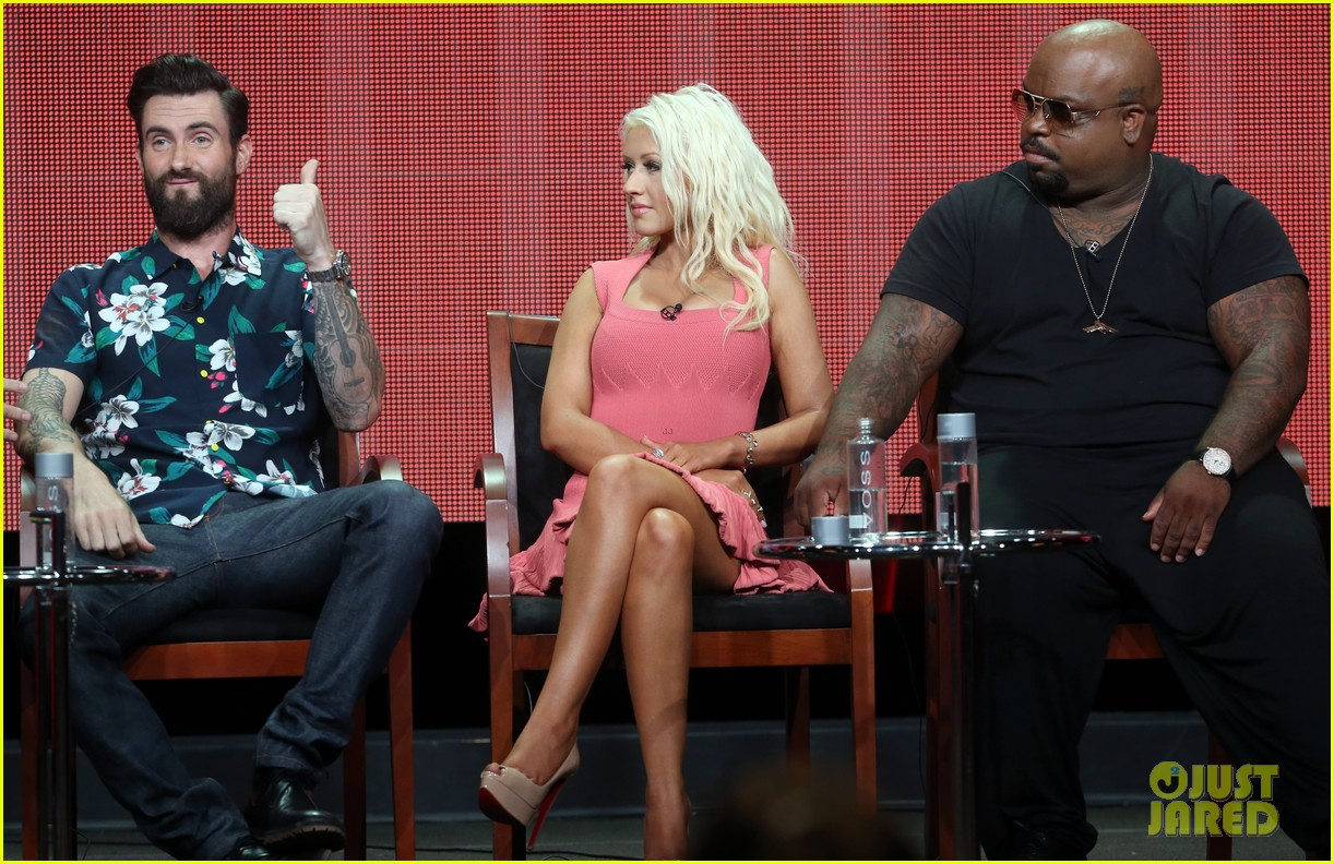 adam levine cee lo green nbc summer tca tour event 16