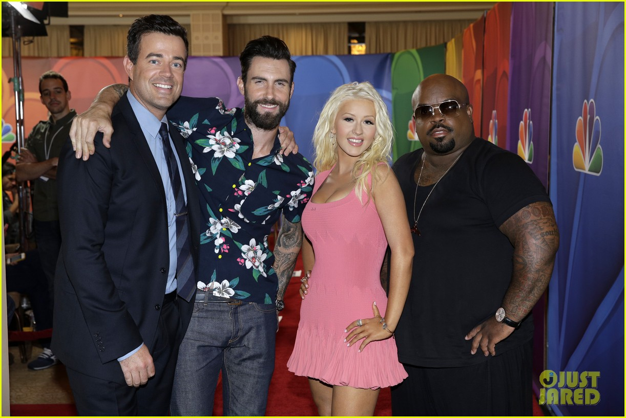 adam levine cee lo green nbc summer tca tour event 202918273