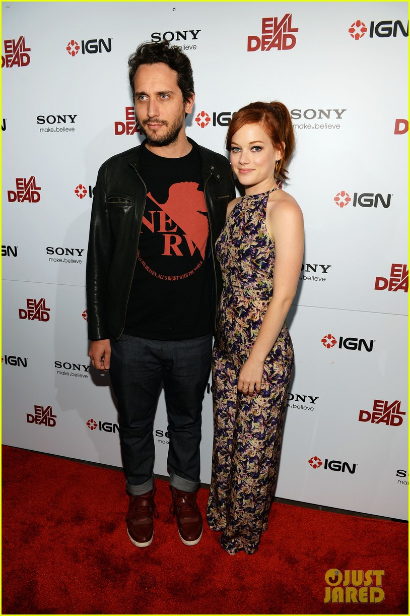 jane levy evil dead blu ray fan party at comic con 2013 032913631