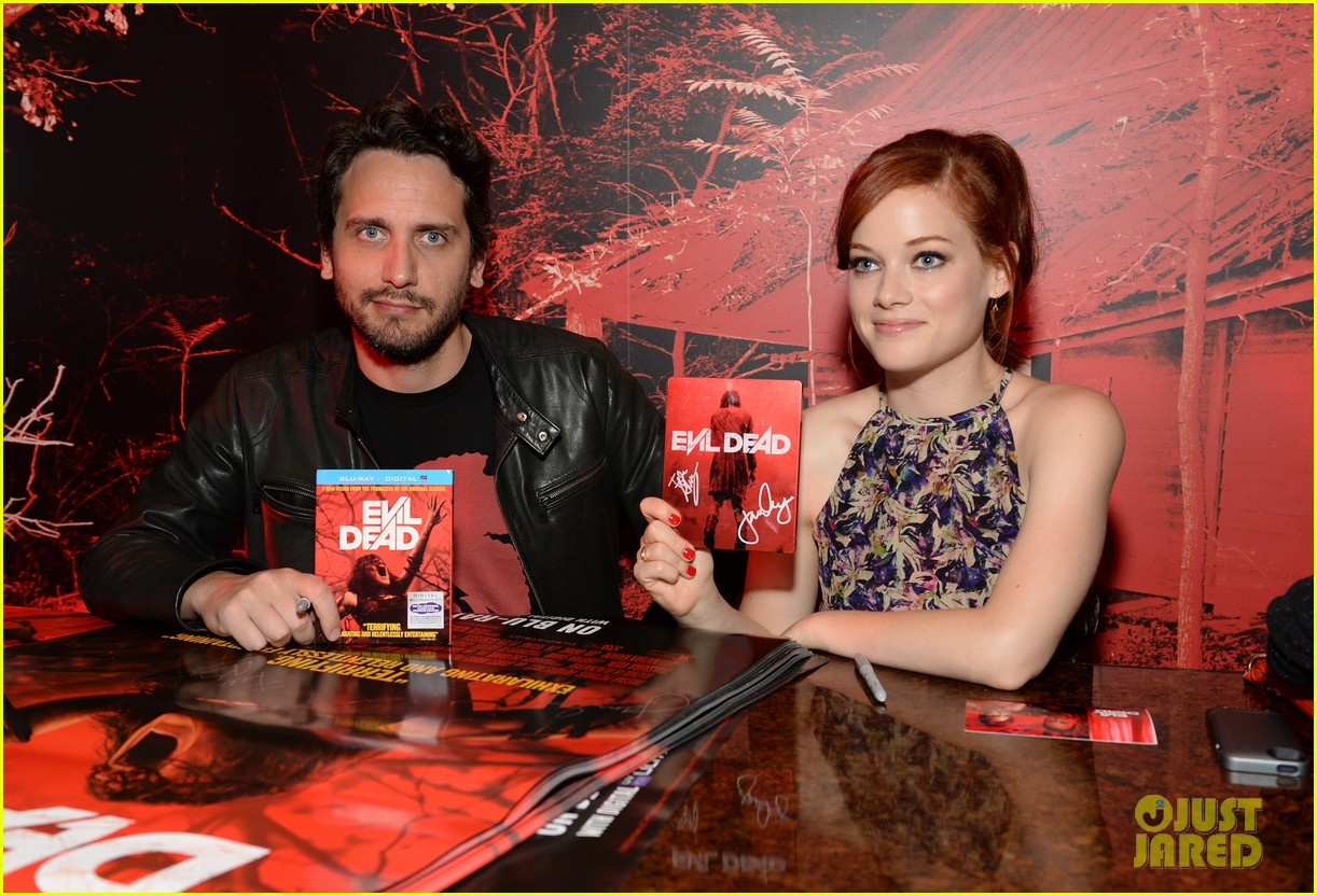 jane levy evil dead blu ray fan party at comic con 2013 042913632