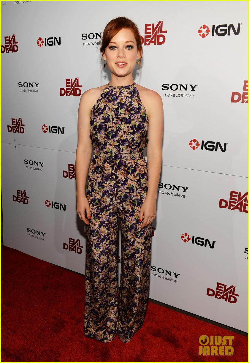 jane levy evil dead blu ray fan party at comic con 2013 052913633