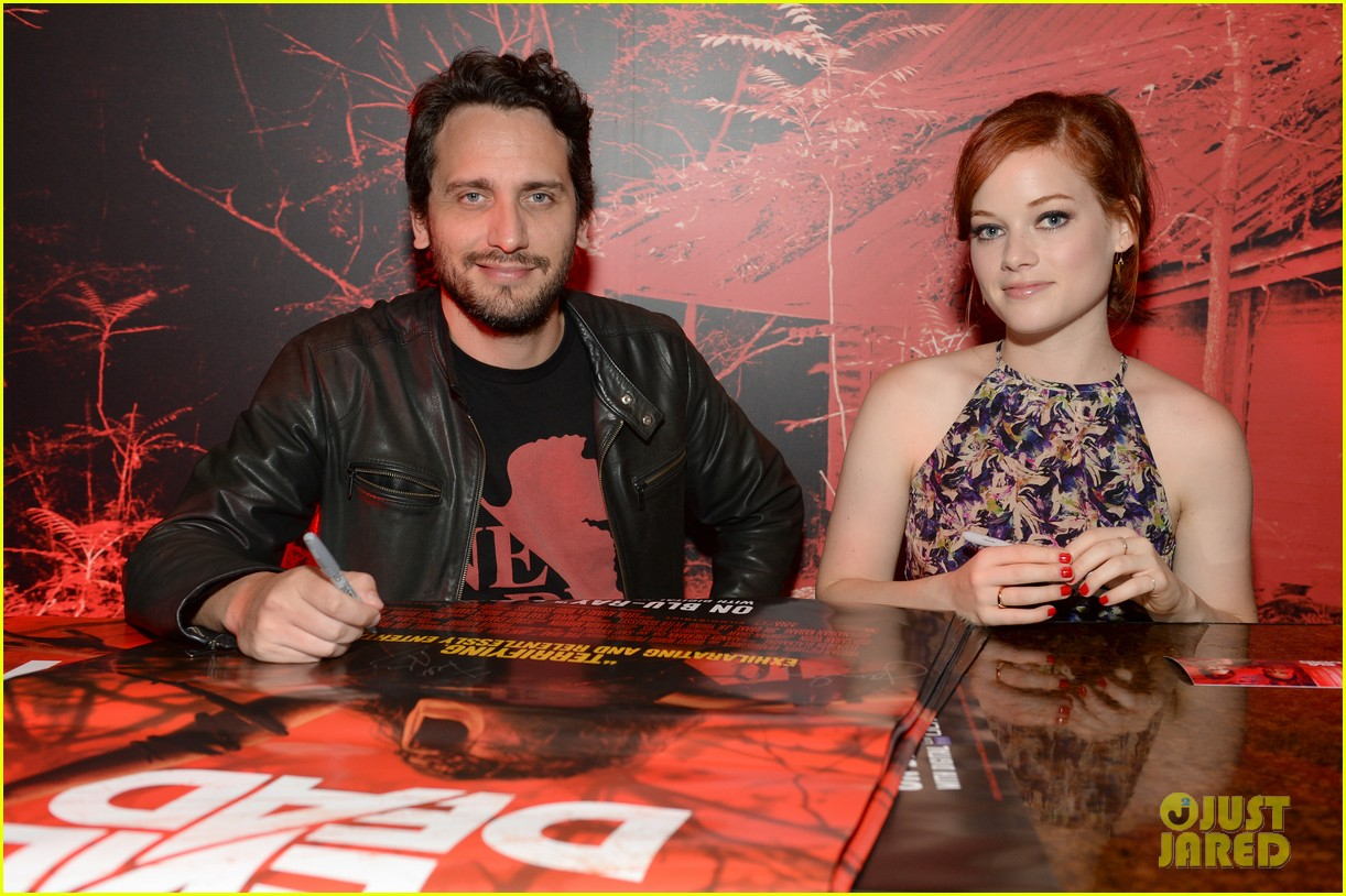 jane levy evil dead blu ray fan party at comic con 2013 092913637
