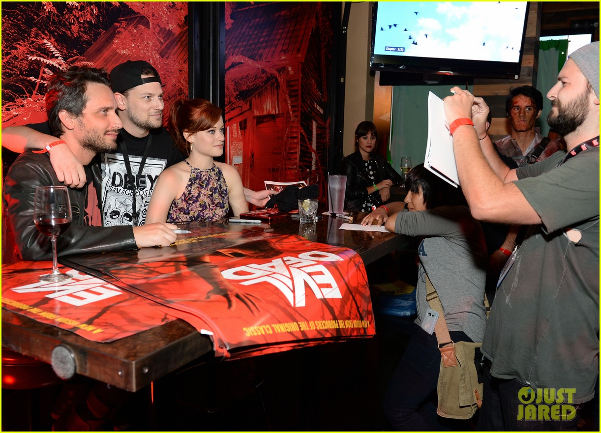 jane levy evil dead blu ray fan party at comic con 2013 102913638